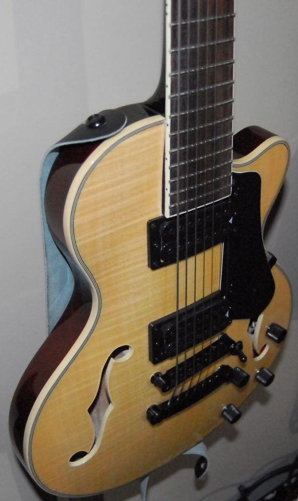 Grote Guitars Review 7 string arch top