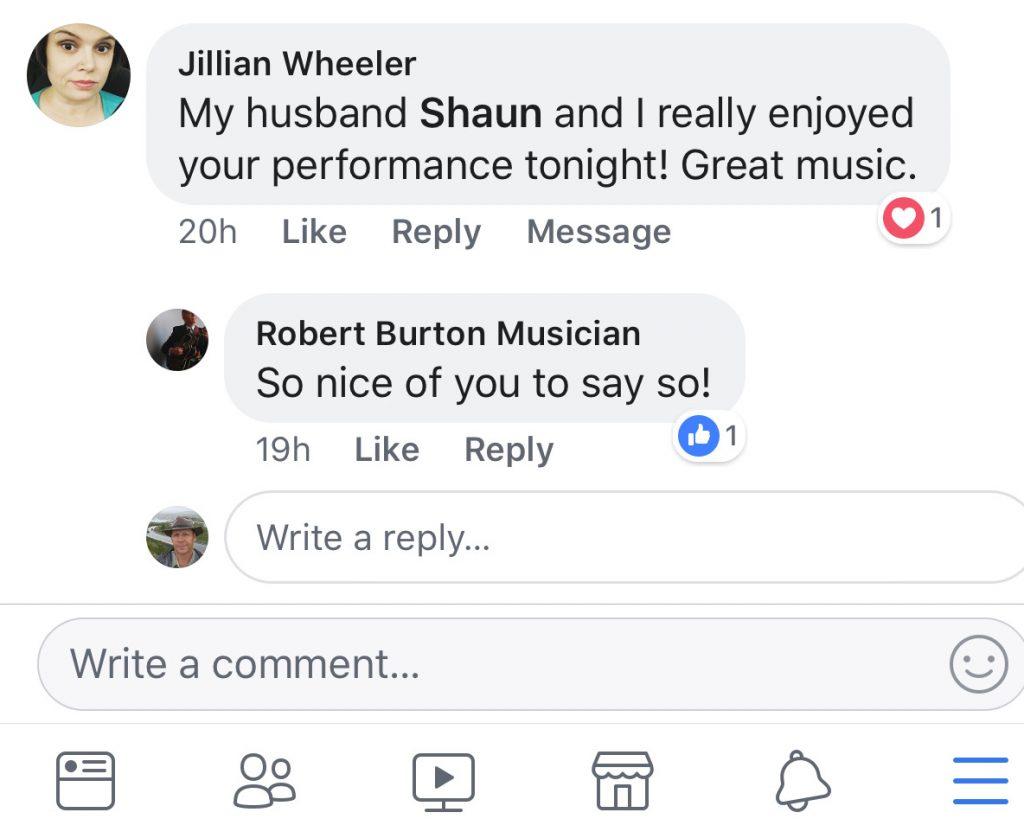 Pople Love the Music of the Burton's Jazz