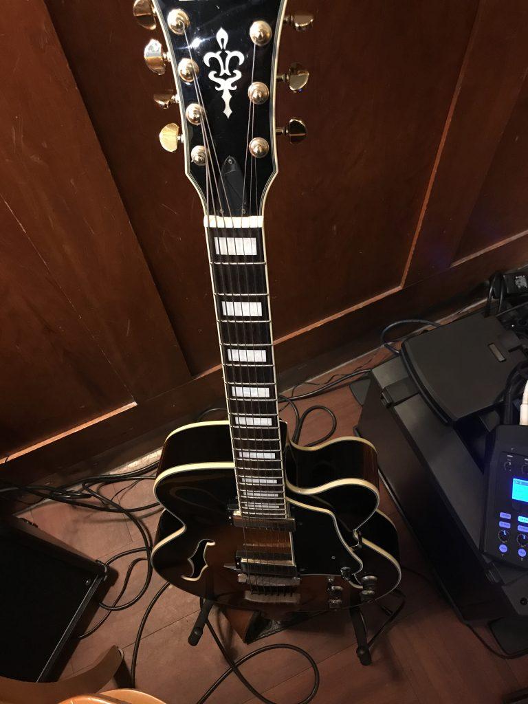 7 string guitar and voice at McNally Robinson Winnipeg